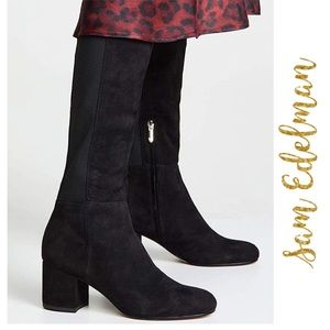 Just In! Sam Edelman Valda Suede Boot